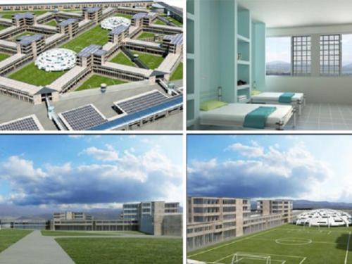Napoli, arriva il carcere più bello d'Italia: celle senza sbarre, piscina e campi sportivi