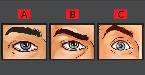Scegli l'occhio più arrabbiato e scopri un segreto sulla tua personalità